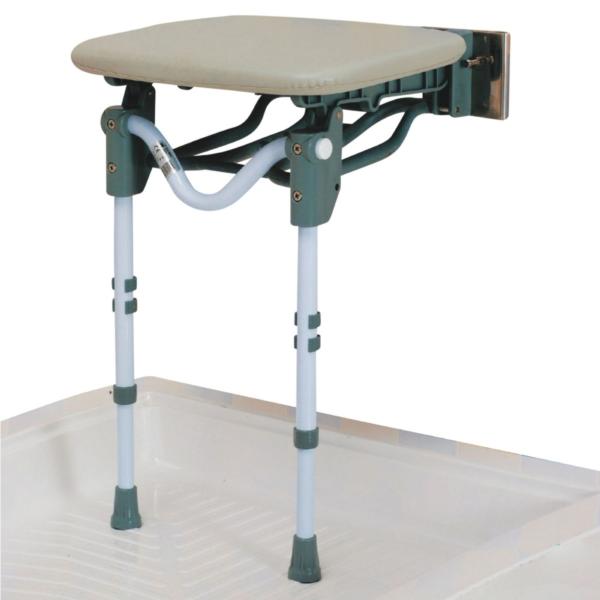 Tooting duschstol med mjukt säte