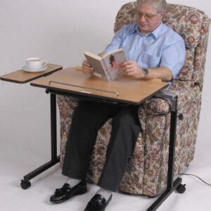 Rullbord/Arbetsbord för säng o stol