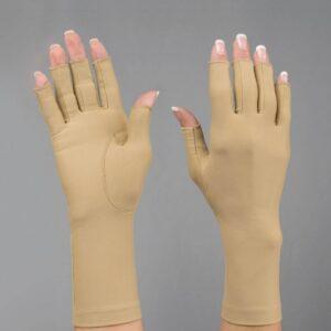 Mjuka kompressionshandskar, 3/4-handskar