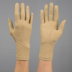 Mjuka kompressionshandskar, hela fingrar