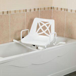 Swiveling svängbart badkarssäte, brukarvikt 102kg