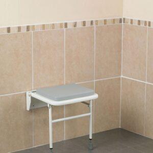 Väggmonterad duschstol