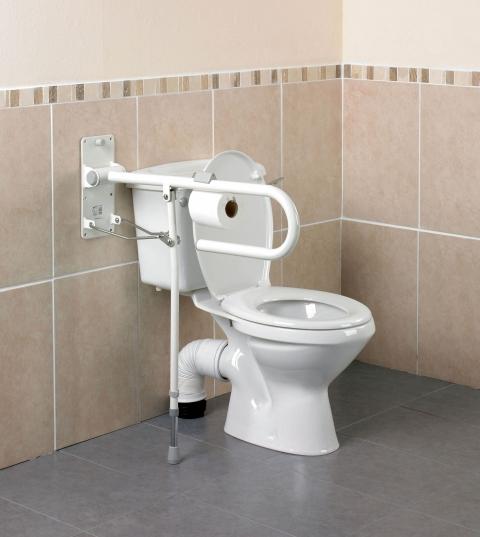 Toalettram för en sida