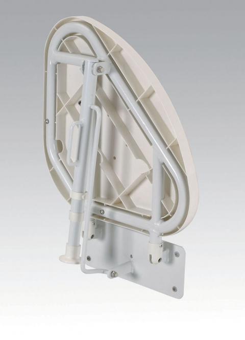 Väggmonterat duschsäte för hörn