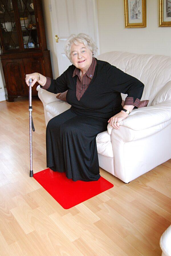 Matta antihalk för golv