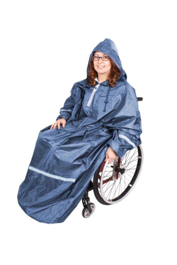 Hellång rullstolsponcho