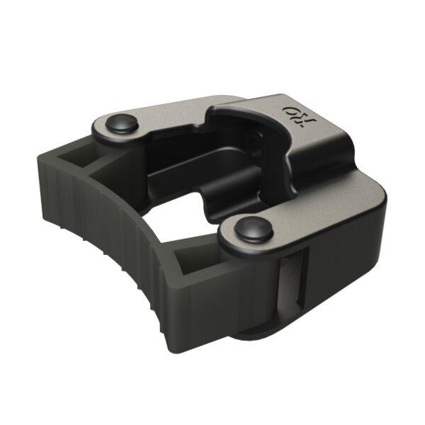 Rolko kryckhållare skål och band med knäppning för 1 krycka