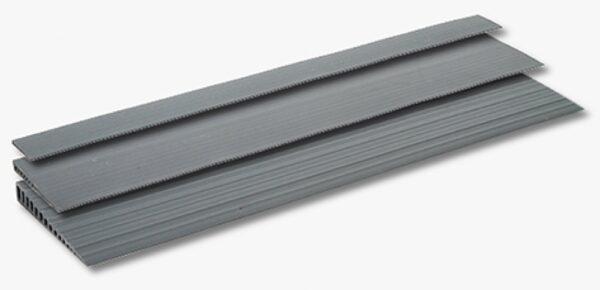 FEAL Tröskelramper gummi – med slitstark yta till exempel för användning i badrum