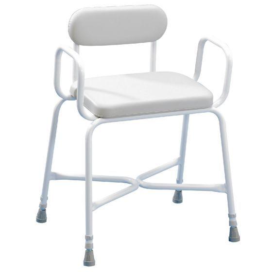 Sherwood Plus duschstol, II med ställbart ryggstödsdjup