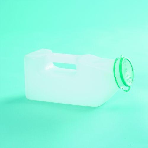 Urinflaska för män med kort hals