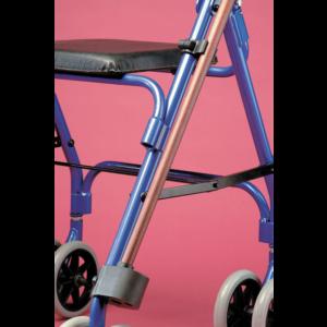 Käpp- och kryckhållare för rullstol, rollator och gåbock