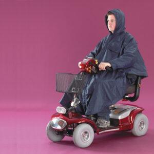 Poncho för scooter