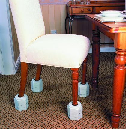 Langham förhöjningskoner som sitter fast  – – för stol, säng och bord