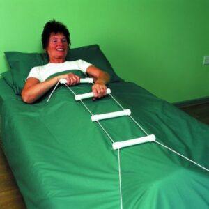 Repstege för säng