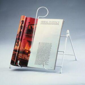 Bokstöd med bokclips