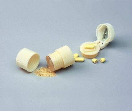 Tablettdelare och krossare