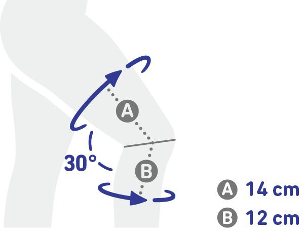 Bauerfeind GenuTrain A3 Knäskydd